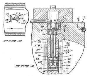 Rosemont Vortex Flow Meter Sensor
